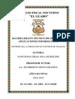 Informe de Fct - Ana Panchana