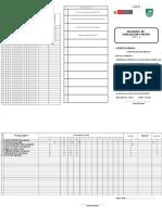 Registro de Base de Datos 2017 -II