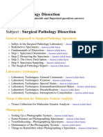 Surgical Pathology Dissection - Lecture Notes, Study Materials and Important questions answers