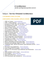 Service Oriented Architecture - Lecture Notes, Study Materials and Important questions answers