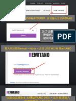 REMITANO-注册篇