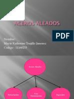 ACEROS ALEADOS