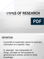 Research Types