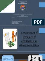 monografía de los contratos en el Perú y su relación con las tics