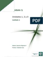 M1 Lectura 1 - Registros de La Propiedad Inmobiliaria, Del Automotor y de Créditos Prendarios