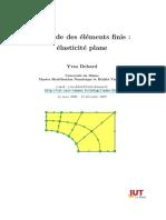 Méthode des éléments finis. élasticité plane.pdf