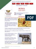 Una Lettura Facile Facile Su Roma - Materiali Didattici Di Scuola d'Italiano Roma a Cura Di Roberto Tartaglione