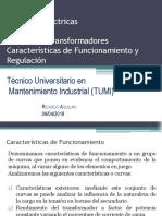 Unidad 1.4 Caracteristicas de Funcionamiento y Regulación