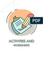 Activities and Worksheets