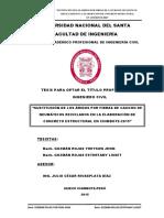 Sustitución de Los Áridos Por Fibras de Caucho de Concreto Estructural en Chimbote