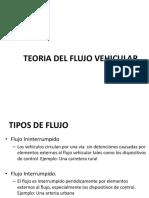 Teoria Flujo Vehicular