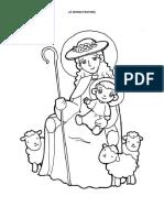 La Divina Pastora Dibujo