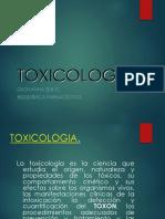SEMINARIO TOXICOLOGÍA INTRODUCCIÓN