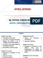 Control Interno - Raphael Ramirez Moreno