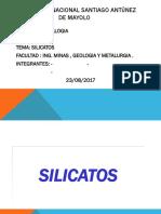 silicatos yaser minas.ppt