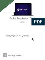 EkooEdu Online Registration Guide