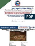 Mejoramiento de La Producción y Comercialización de Cuy-romero Cenzano, Jav