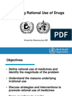 Promoting Rational Use Drugs KW TBS Nov12