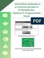 MatematicasII 1BS 04 ProgramacionLineal