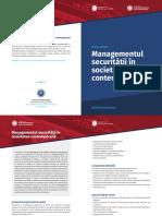 Pliant Master in Managementul Securitatii Nationale La Babes Bolyai Din Cluj 2017