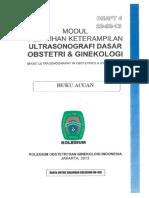 Modul Pelatihan Keterampilan Ultrasonografi Dasar Obs & Gin