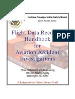 FDR Handbook - Flight Data Recorder Handbook for Aviation Accident Investigations