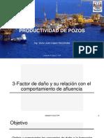 Relacion Factor de Daño Con Comportamiento de Afleucna