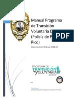 Manual (HARP) Programa Transición Voluntaria 2nda Fase DSP (Policía de Puerto Rico)