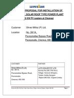 Solar RoofTOP system design