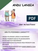 Program Lansia 2015