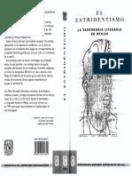 Schneider Luis Mario Elestridentismo La Vanguardia Literaria en México
