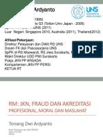 RM untuk Fraud, JKN, Akreditasi - Surakarta 14 Maret 2018.ppt