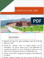 Empresa Agricola San Juan - Análisis Financiero