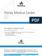 disney medical center hcin542 final