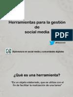 Presentacion Herramientas La Diplo Ult - Fabián Melo2014 Ult