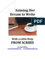 Reclaiming Her Dream to Write, With a Little Help from Scribd