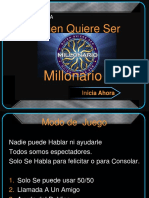 Quien Quiere Ser Millonario Preguntas Español