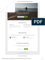 Design a Travel Startup Landing Page Using Photoshop