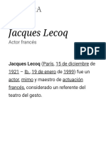 Jacques Lecoq Wiki