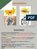 Sunscreens 2014