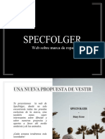 Texto Promocional - SPECFOLGER
