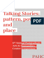 PAHC Talking Stories Brochure