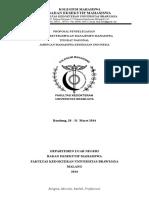 Proposal Delegasi LKMM 3