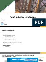 PaaS Industry Landscape