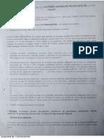 Formato de Minuta Para Audiencia Concentrada en Juzgado de Policía Local, Enviado Por Caterina de Liz Pezo Garcés