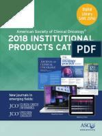 2018 Journals Catalog