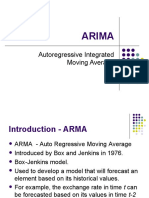 ARIMA Report