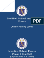 Modified School Forms Overview Master Plan