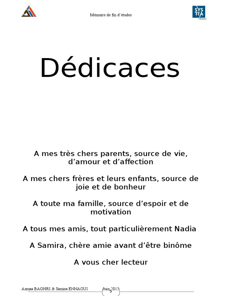 1 pfe d u00e9dicace remerciement introduction conclusion