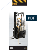 Crown c5-Internal Forklift Operator Manual